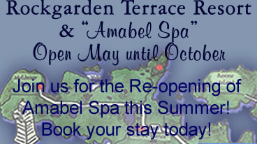 to Manitoulin Island Amabel Spa - Now Open!